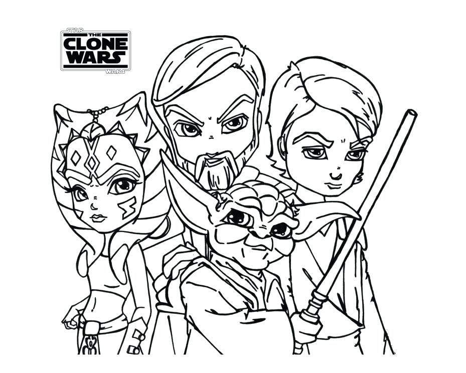 929x744 Star Wars The Clone Wars Coloring Pages Star Wars The Clone Wars