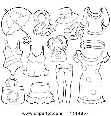 The Best Free Clothing Coloring Page Images Download From 50 Free
