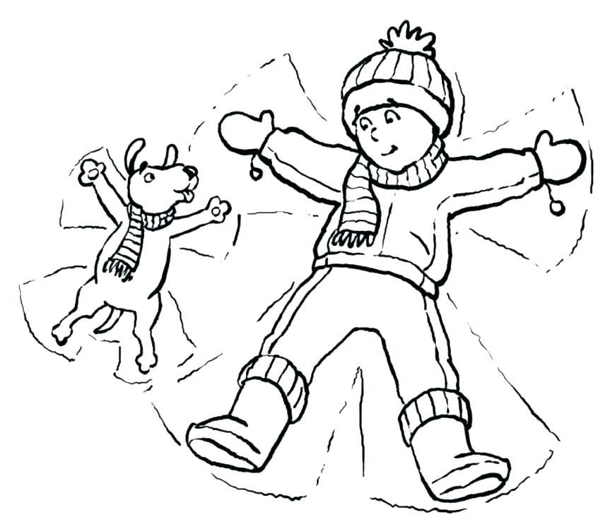 863x749 Winter Clothes Coloring Coloring Pages Practice Writing The Word