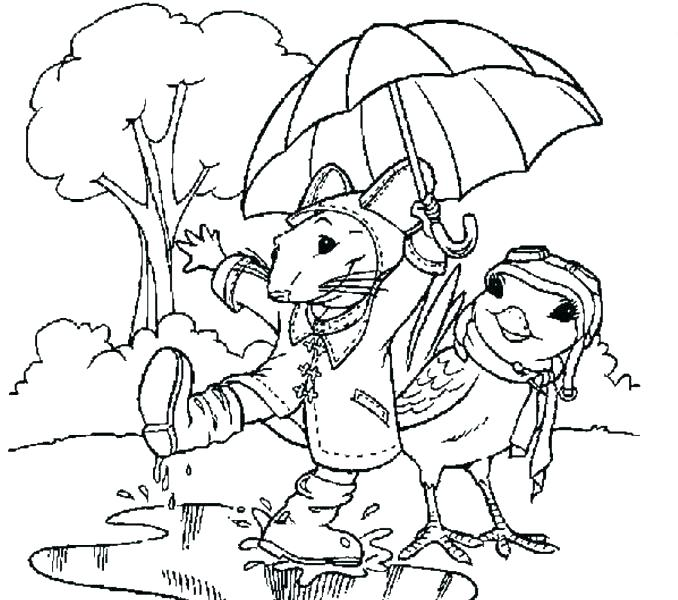 678x600 Rainy Day Coloring Page Cloudy Day Coloring Pages