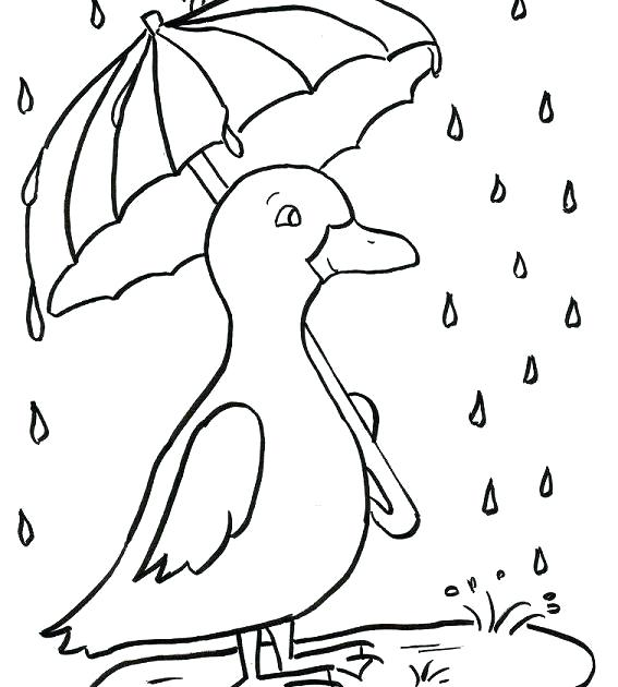 567x630 Rainy Day Coloring Pages Rainy Day Coloring Pages Free