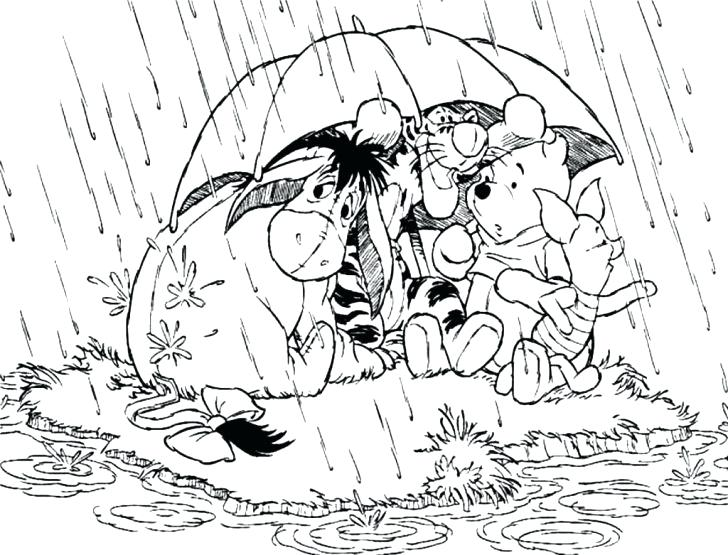 728x555 Rainy Day Coloring Pages With Wallpaper Free Medium Size Of Rainy