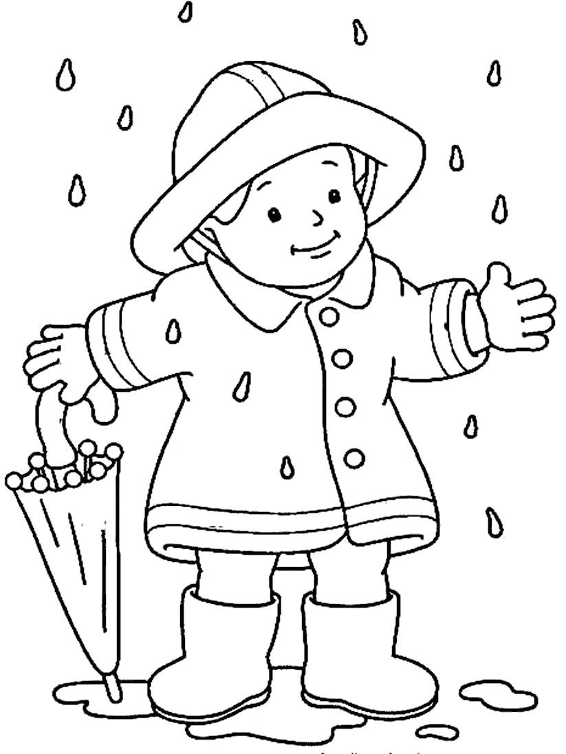 823x1097 Rainy Day Coloring Sheets Informative Page Printable Pages Kids