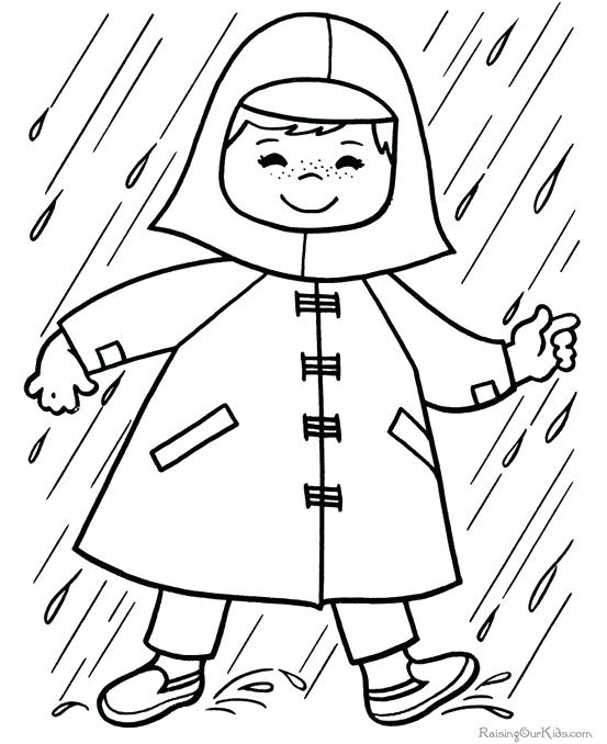553x678 Great Rainy Day Coloring Pages Images The Best Curriculum Vitae