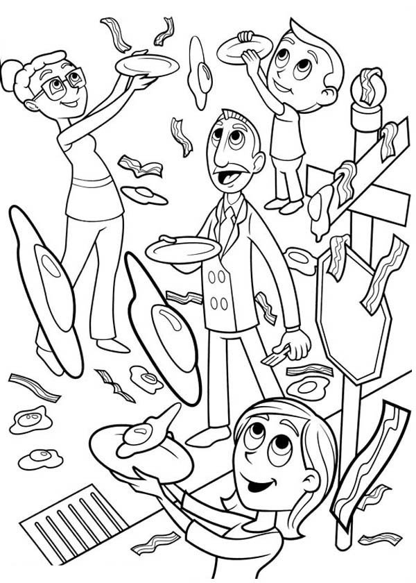 600x840 Cloudy A Chance Of Meatballs Coloring Page Luxury Cloudy