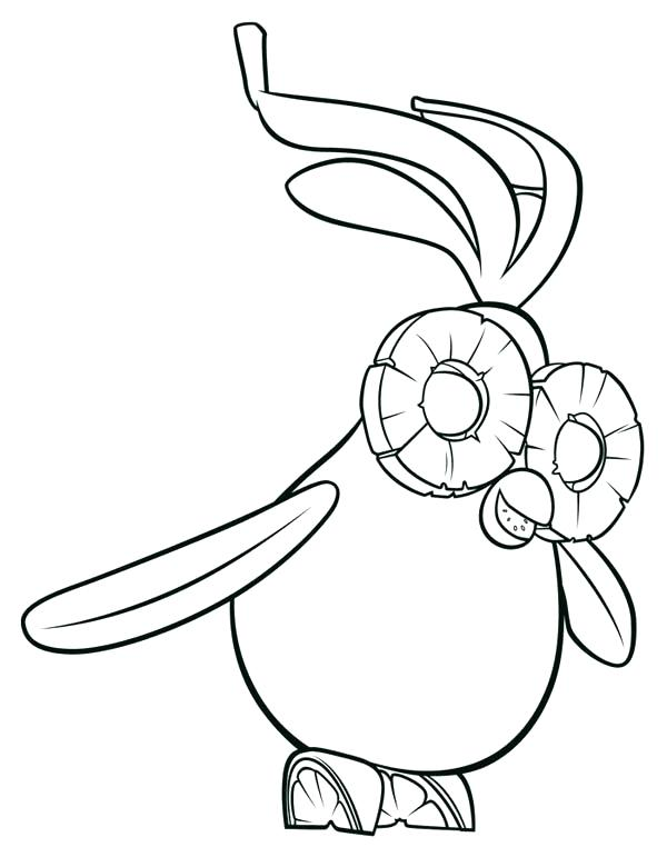 600x780 Cloudy With A Chance Of Meatballs Coloring Pages