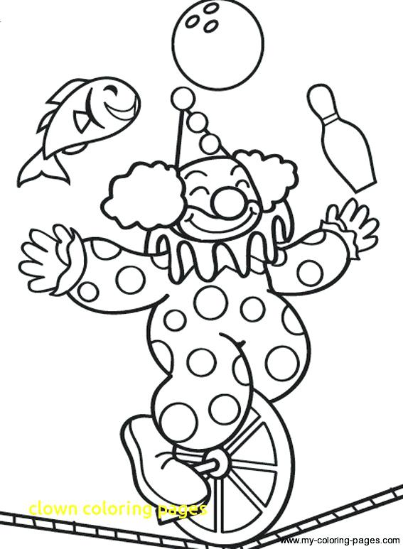 567x773 Circus Clown Coloring Pages Cheap Circus Coloring Pages Image