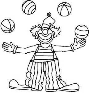 288x300 Clown Coloring Pages For Kids Coloring Worksheets