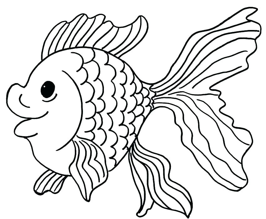 850x701 Clown Fish Coloring Pages Fish Printable Coloring Pages Fish