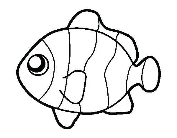 600x470 Clown Fish Coloring Page Clown Fish Coloring Pages Lobster