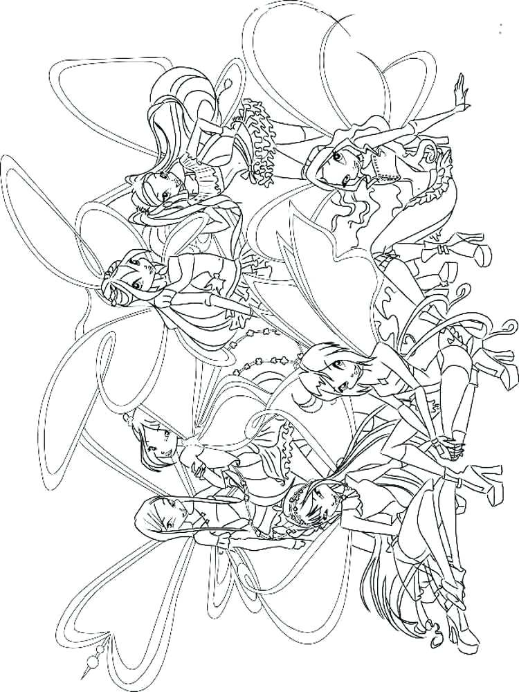 750x1000 Winx Club Coloring Pages Club Coloring Pages Winx Club Bloom