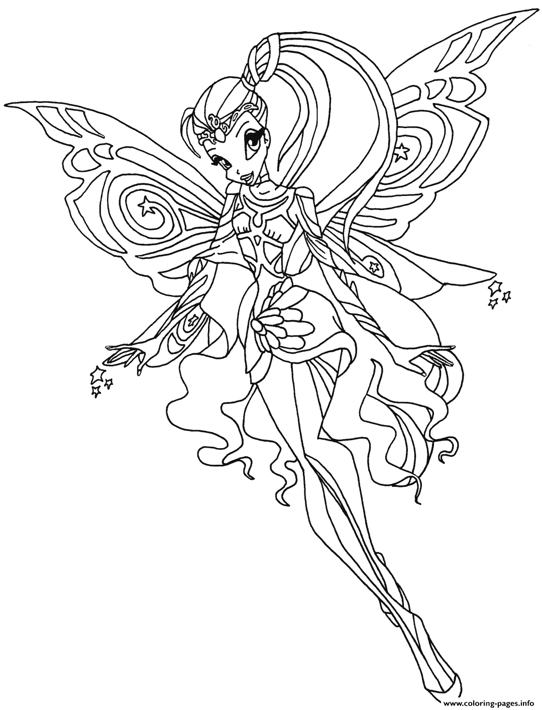 1079x1413 Winx Coloring Pages Fresh