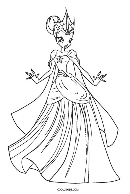 452x670 Free Printable Winx Coloring Pages For Kids