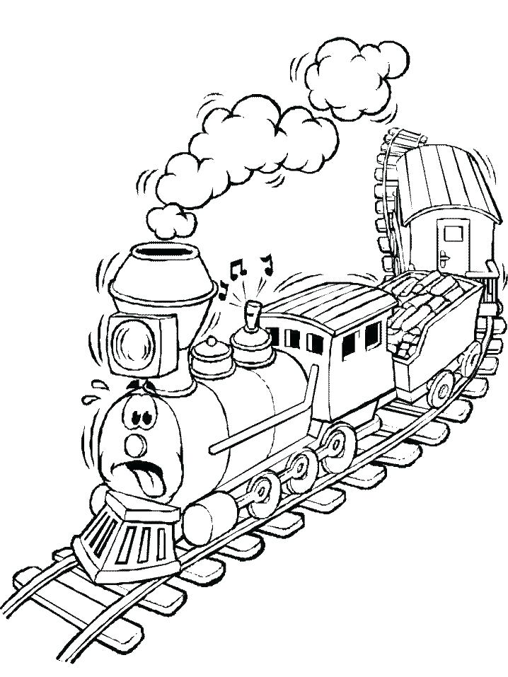 718x957 Train Color Page Dinosaur Train Coloring Pages Train Color Page