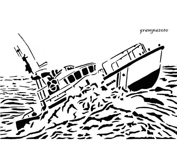 Coast guard boat coloring pages - Hellokids.com | 480x600