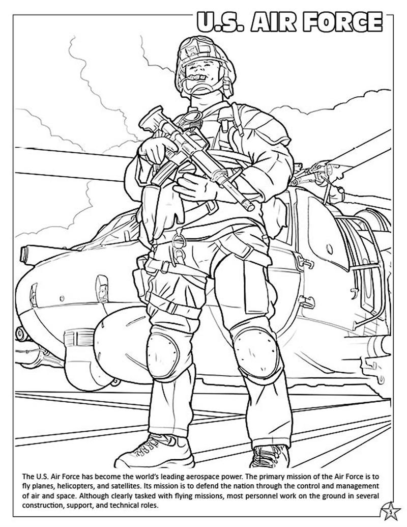 800x1035 Coloring Books U S Armed Forces Coloring Activity Book