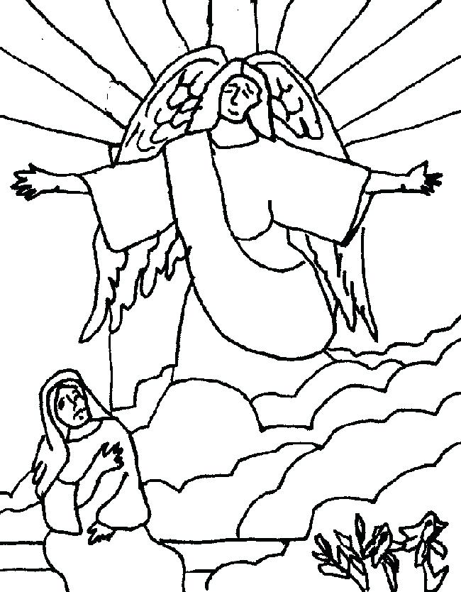 650x834 Joseph And His Many Colored Coat Coloring Page Story Of Coloring