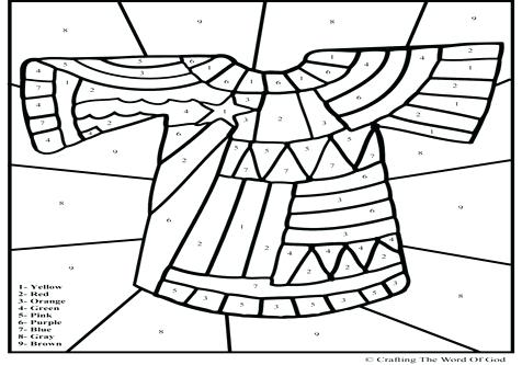 476x333 Joseph Coat Many Colors Coloring Sheet Free Coloring Pages