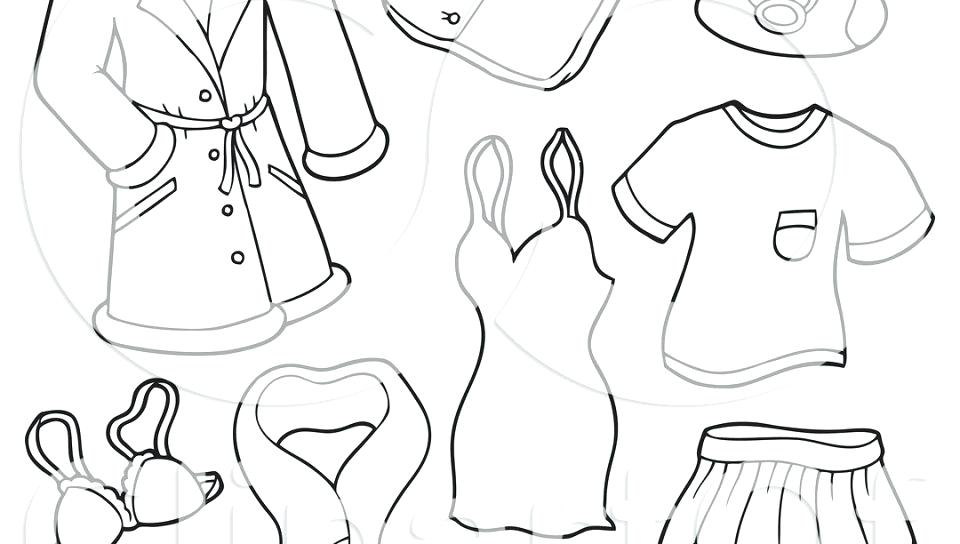 960x544 Clothing Coloring Page Winter Clothes Colouring Pages Winter
