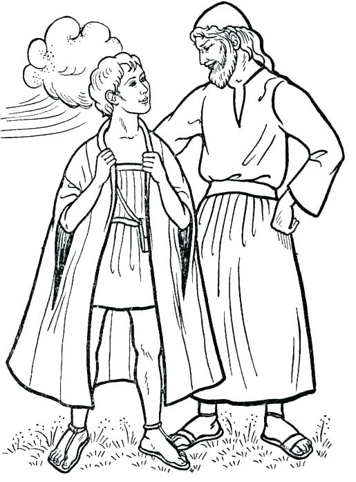 515x697 Josephs Coat Coloring Page Coat Coloring Page Holiday Coloring