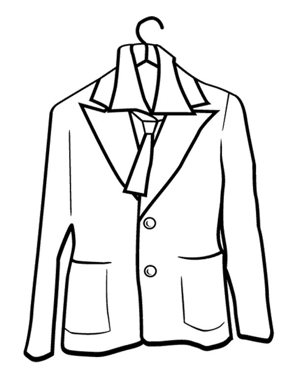 600x776 Rain Coat For Girl Coloring Page Winter Coloring Page