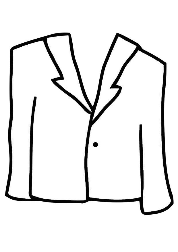 620x875 Coloring Page Coat
