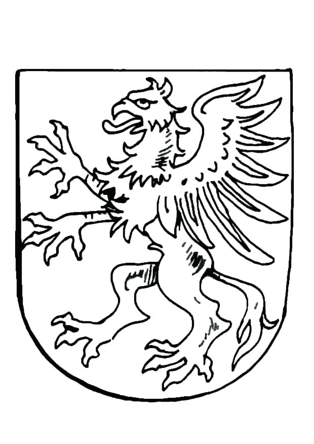 620x875 Coat Of Arms Coloring Page Download Large Image Ontario