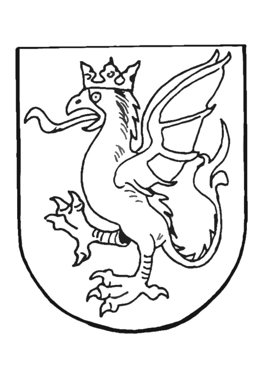 531x750 Coloring Page Coat Of Arms