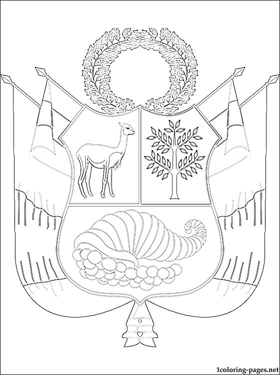560x750 Coat Of Arms Coloring Page Coat Of Arms Coloring Page Mexican Coat