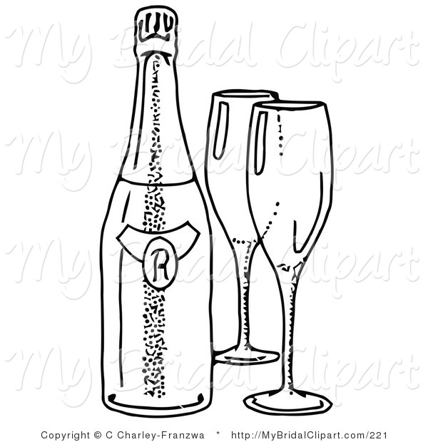 600x620 Wine Bottle Coloring Pages