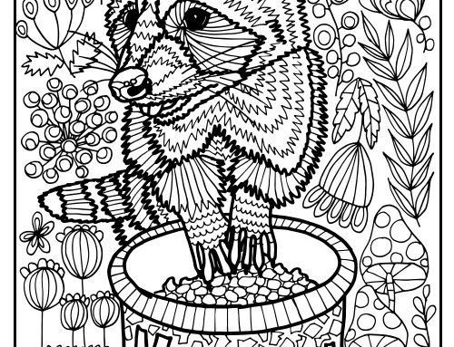 500x383 English Cocker Spaniel Coloring Page Charlie