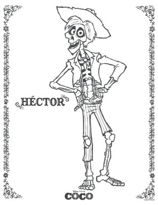 The Best Free Coco Coloring Page Images Download From 134