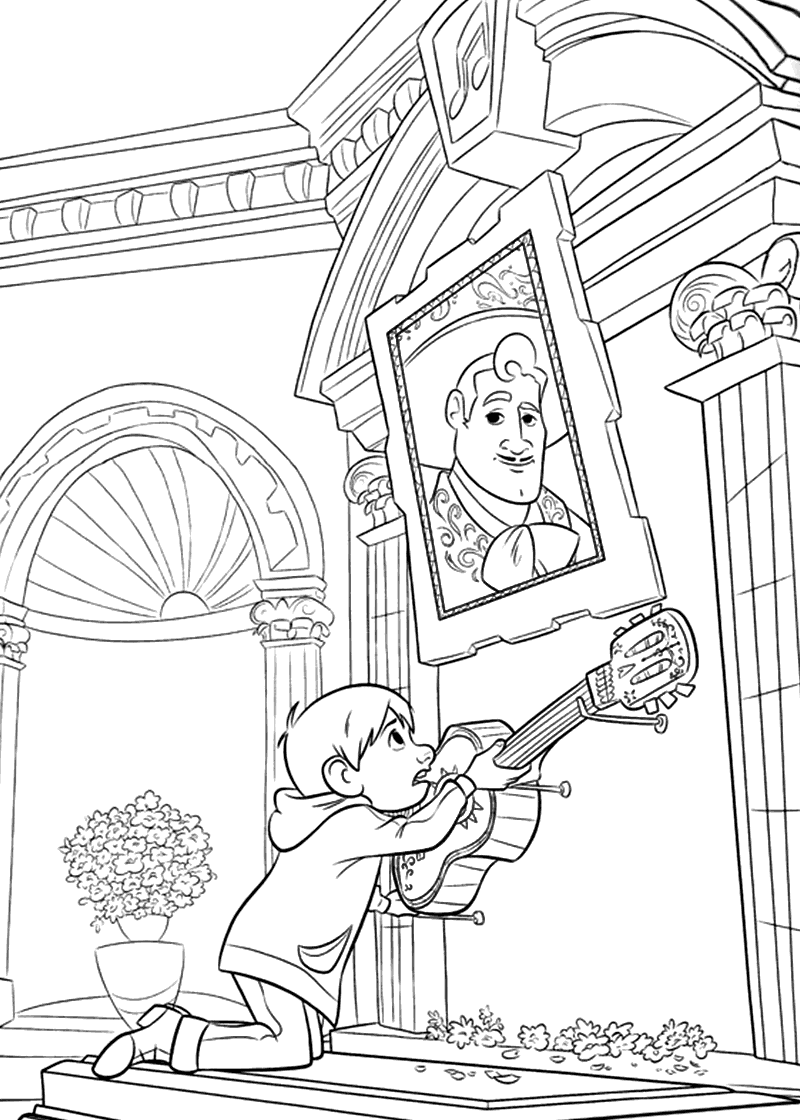 Coco Movie Coloring Pages at GetDrawings
