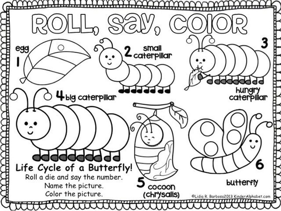 960x720 Very Hungry Caterpillar Coloring Page Very Hungry Caterpillar