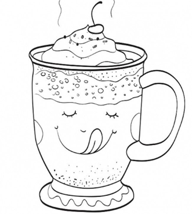 650x723 Christmas Printable Coloring Pages