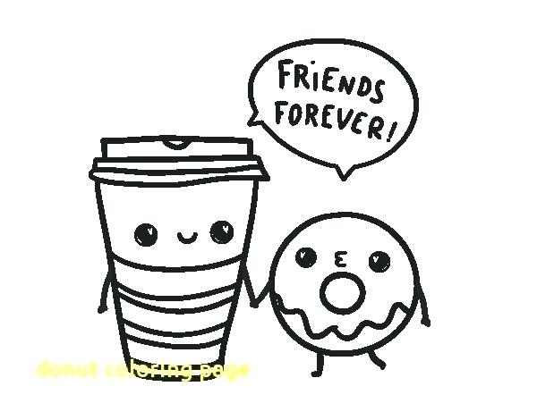 600x470 Donuts Coloring Pages Best S Image Page With Coffee Cup And Dunkin
