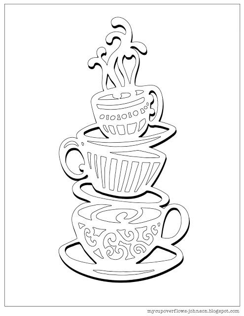 495x640 My Cup Overflows Tea And Coffee