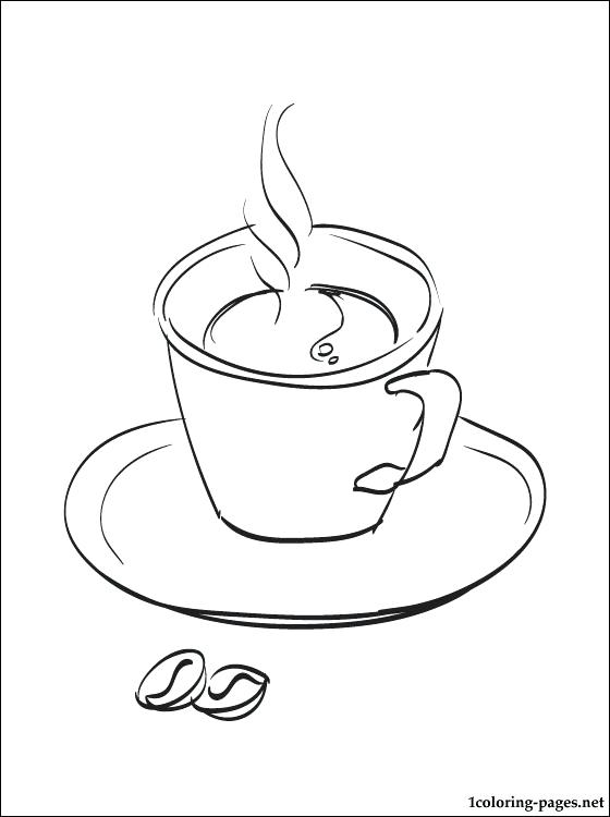 560x750 Coffee Coloring Page Coloring Pages Cup Of Coffee Coloring Page