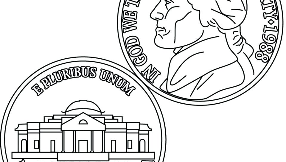 960x544 Coins Coloring Page Adult Top Coin Coloring Pages Gallery Images