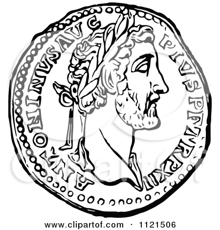 450x470 Roman Coin Coloring Pages Coloring Pages