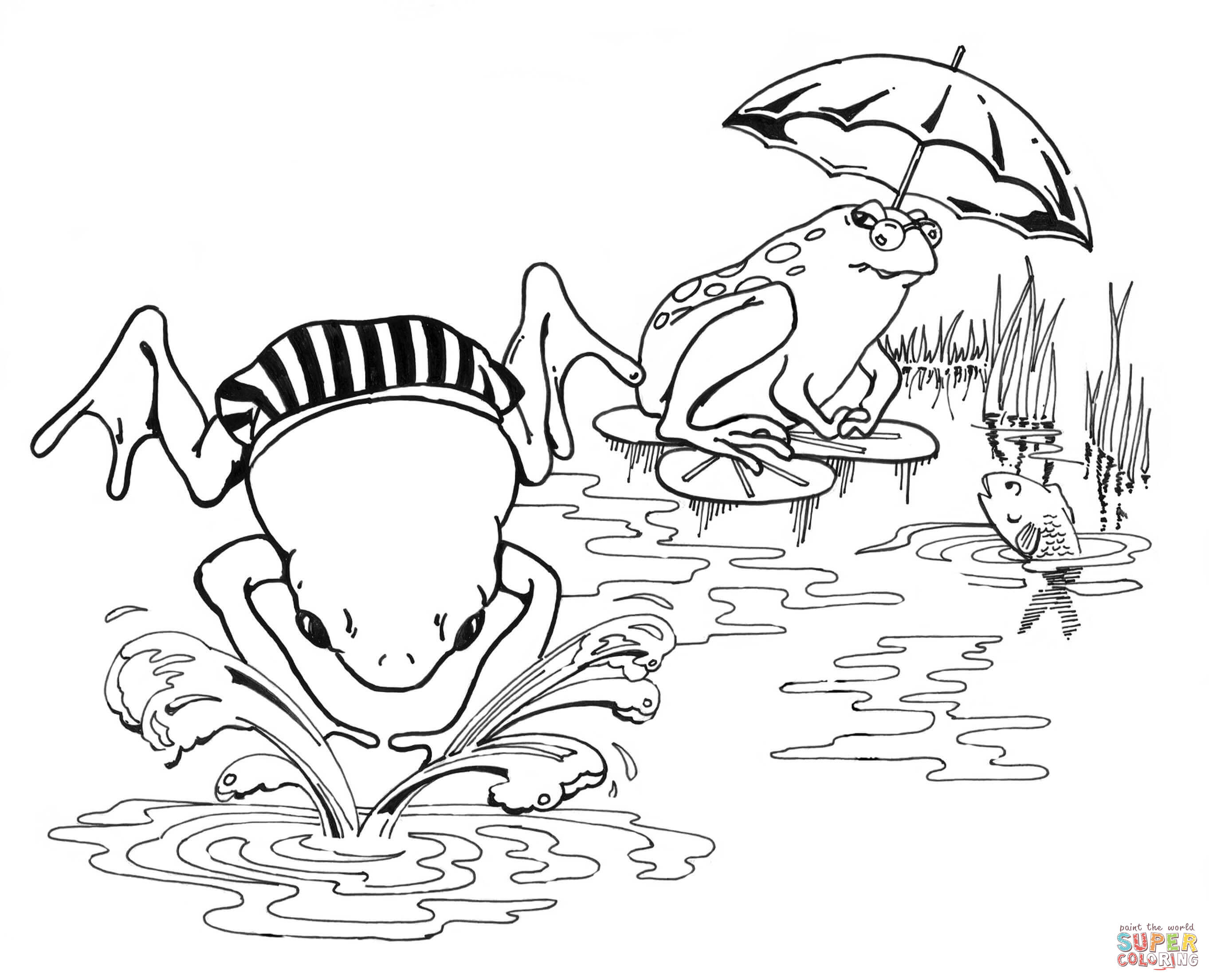 2726x2210 New Boy Swimming Coloring Pages Unique Cold We