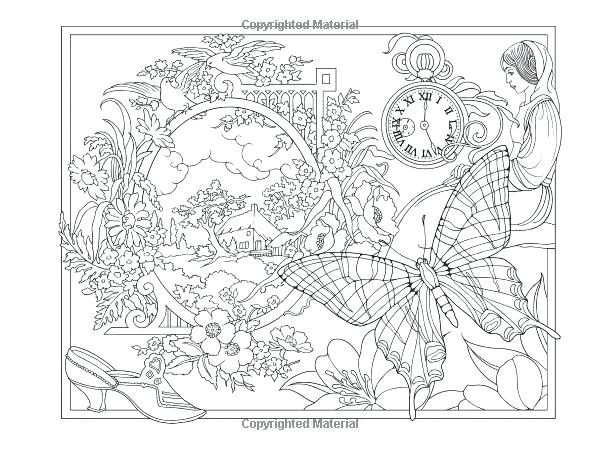 600x450 Collage Coloring Pages Coloring Pages For Adults Collage Coloring