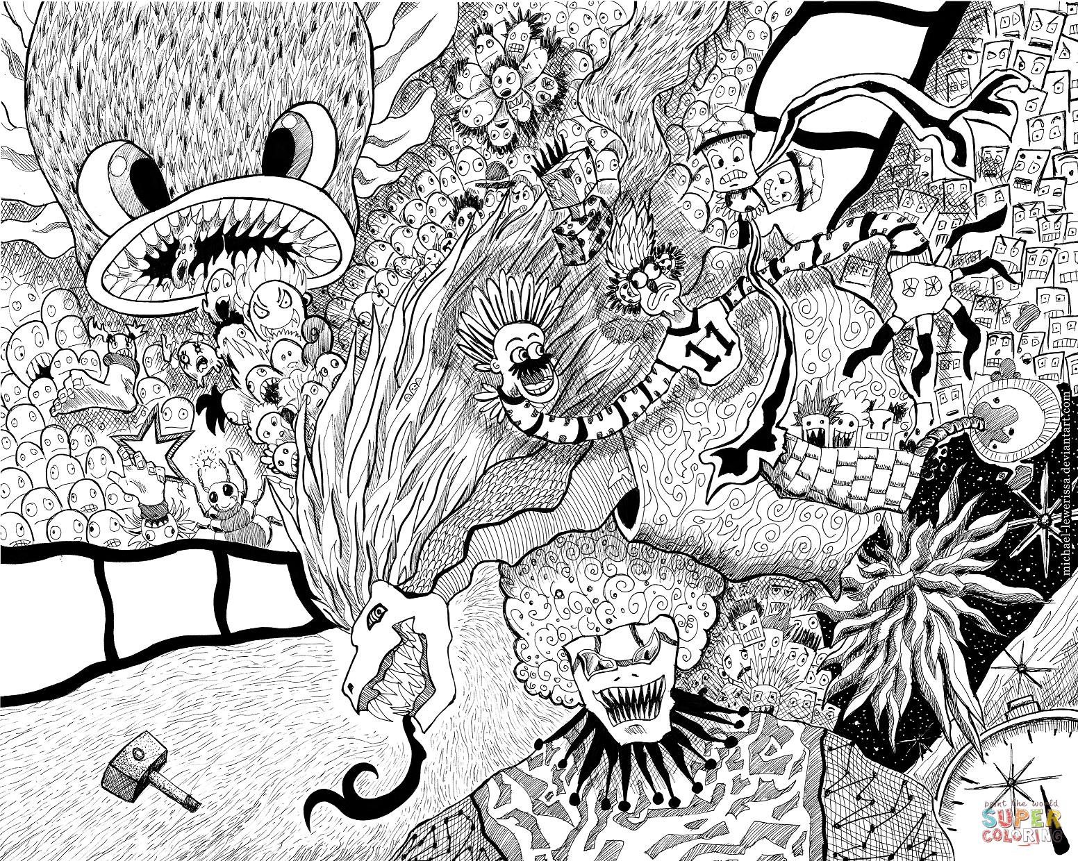 1552x1240 Fresh Doodle Collage