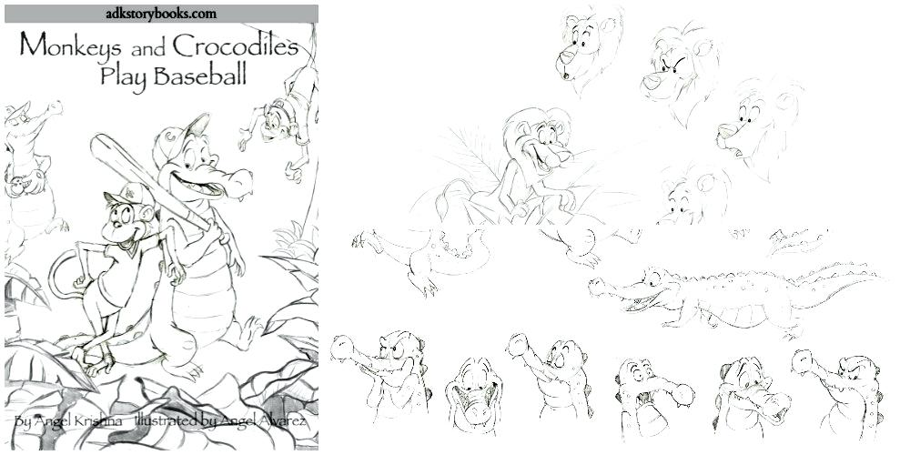 1000x500 Krishna Coloring Pages Coloring Page Collage Little Krishna