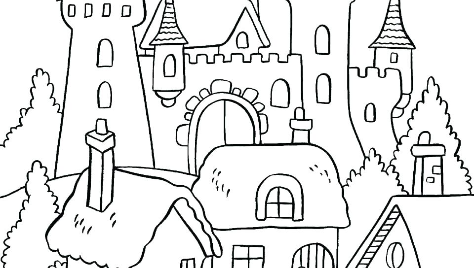 960x544 Collage Coloring Pages
