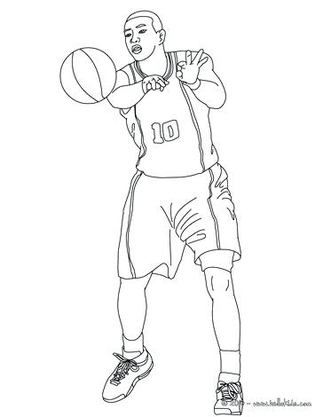 College Basketball Coloring Pages at GetDrawings.com | Free for ...