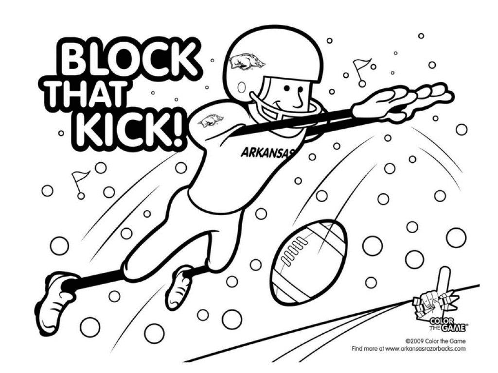 1024x768 Exclusive Ideas Alabama Football Coloring Pages To Print Shizuka