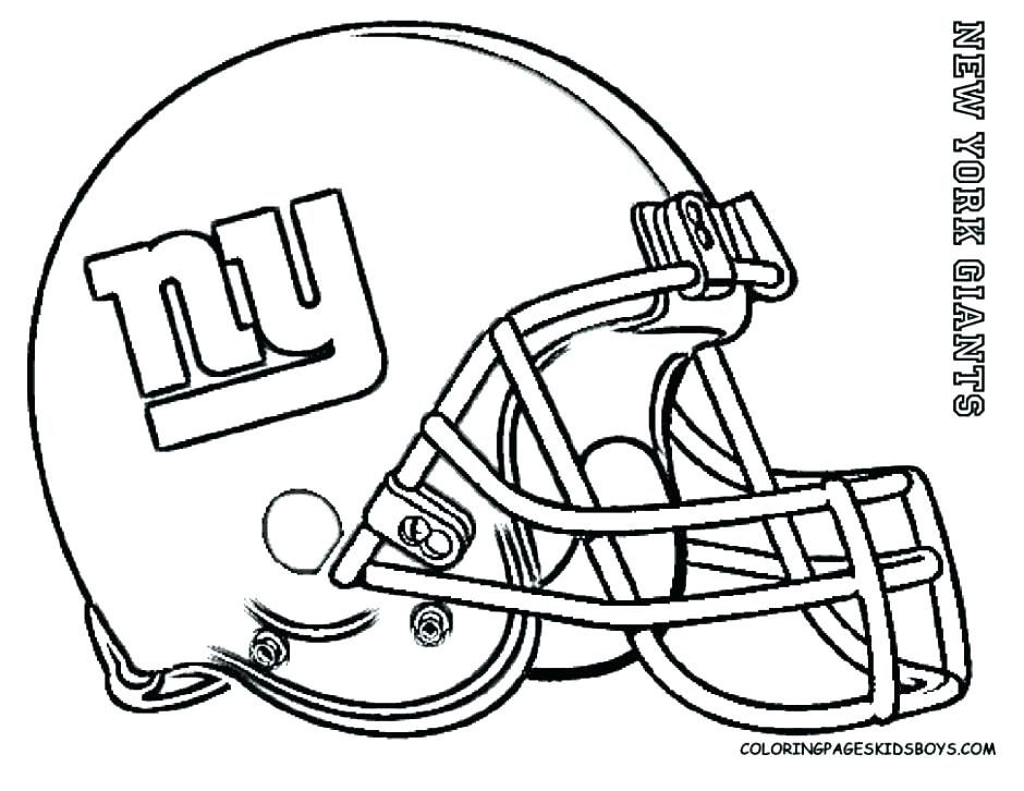940x726 College Football Coloring Pages