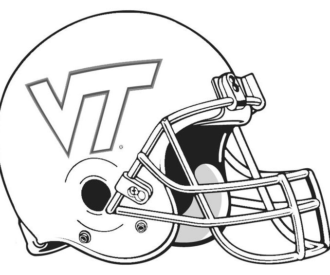 678x564 College Football Logo Coloring Pages Coloring Page