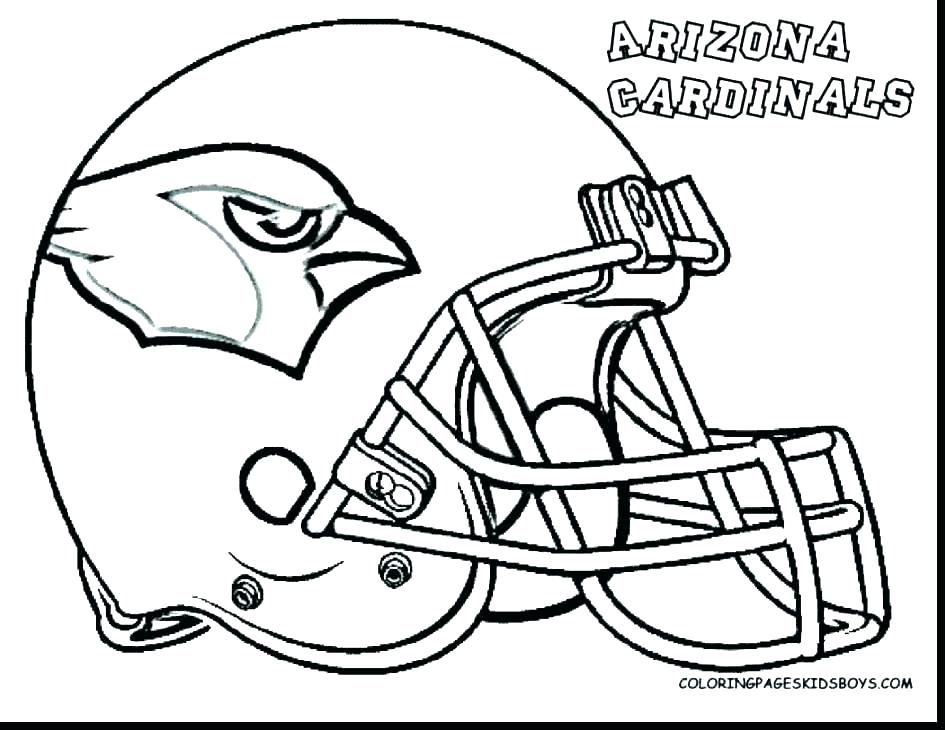 945x730 Fine Design Football Helmet Coloring Page Football Helmet Coloring